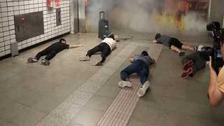 [현장영상] '서울 지하철서 폭탄이?' 실전 방불케 하는 대테러 훈련
