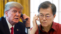 Moon et Trump conviennent de mettre pleinement en œuvre les sanctions onusiennes..