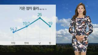 [날씨] 낮 동안 가을볕 뜨거워…미세먼지 '보통'