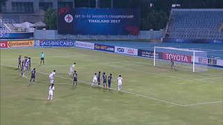 U-16 여자 축구, 일본 꺾고 AFC 챔피언십 결승진출…북한과 격돌