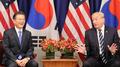 Moon et Trump s'entendent pour accroître la dissuasion militaire et la pression ..
