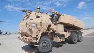 미국 본토 포병부대 한반도전개…서해서 정밀탄 실사격훈련