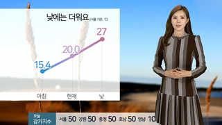 [날씨] 한낮에 더워, 서울 27도…주말 맑은 하늘 계속