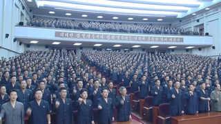 """북 수뇌부 총출동 반미집회…트럼프에 """"미친놈"""" 욕설"""