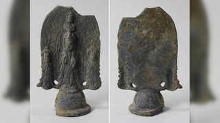 양양서 6세기 금동삼존불 출토…'국보급 불상'