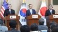 Corea del Sur, EE. UU. y Japón acuerdan buscar todas las opciones diplomáticas p..