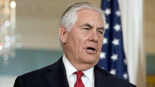 """틸러슨 """"미국에 불이익시 중국 도전에 움츠러들지 않을 것"""""""
