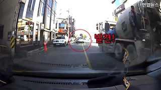 [현장영상] 영화같은 추격전…잡고보니 대포차에 무면허 음주 운전