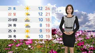 [날씨] 대부분 맑고 온화…남ㆍ동해 강풍ㆍ풍랑 유의