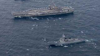 한미 연합 해상훈련 종료…軍, 강화된 대북 감시태세 유지