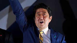 아베, 북핵위기 기회로 장기집권 기반 전쟁가능국 개헌속도