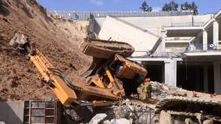 물류센터 건설현장서 옹벽 붕괴…작업자 1명 사망ㆍ9명 부상