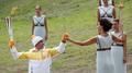 La flamme olympique des JO de PyeongChang allumée en Grèce
