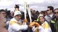 بدء تتابع الشعلة الاولمبية لقطع 2,018 كيلومترا انحاء كوريا