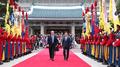 Moon et Trump débutent leur sommet sur la Corée du Nord, le commerce et l'allian..