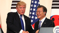 Moon y Trump acuerdan fortalecer la disuasión y urgir a Corea del Norte a renunc..