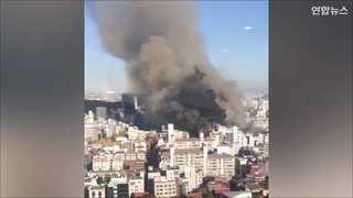 [현장영상] 서울교대 큰불 완전 진화…당시 상황 보니