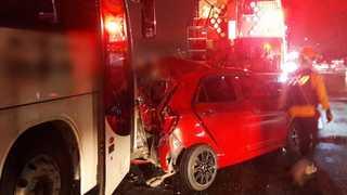 [사건사고] 고속버스가 경차 받아 4중 추돌…어린이 차량 사고도