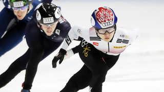 쇼트트랙 최민정 시즌 마지막 월드컵 1500m 금메달