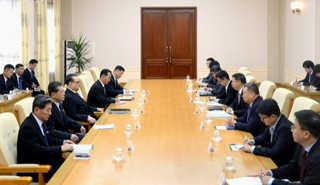 중국 쑹타오, 북한 리수용과 회담…오늘 김정은 면담 '촉각'