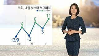 [날씨] 오늘도 영하권 추위…오후부터 비ㆍ눈