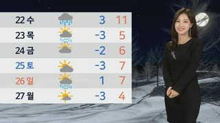 [날씨] 전국 맑고 아침 영하권 추위…낮부터 기온 올라