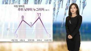 [날씨] 출근길 영하권…낮부터 맑고 추위 풀려