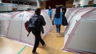 대피소 재개방에 이재민 이동…임대아파트 입주 개시