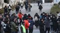 Plus de 590.000 candidats passent le «Suneung» après son report causé par le séi..