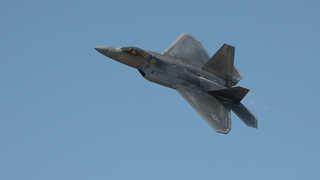 미 F-22 6대 다음달 한반도 전개…北압박 최고조