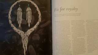 """""""신라 장인의 명성""""…나드리, 영국 왕실 사진집에 실렸다"""
