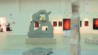 부산국제아트페어 개막…국내외 3천점 전시 미술출제