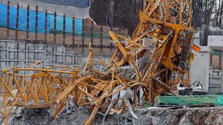 경기도 물류센터 타워크레인 사고…3명 사망ㆍ4명 부상