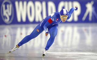 이상화, 4차 월드컵서 500m 은메달 추가