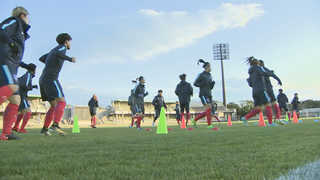여자축구 북한과 대결…이번에는 이긴다