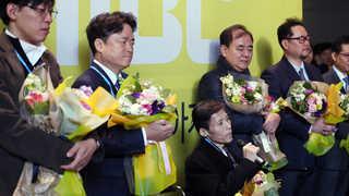 MBC 복직자 5명, 2012년 해고 후 첫 출근