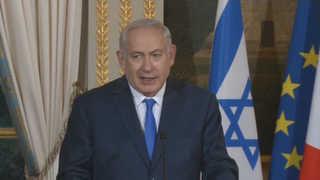 """이스라엘 총리 """"성경에도 수도는 예루살렘""""…유럽방문서 난타"""