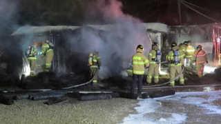 [사건사고] 목재건조 공장에서 불…난로 과열 추정 화재도