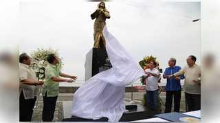 """필리핀에 첫 위안부 동상 건립 """"희생자 기억"""""""