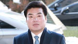 """불법정치자금 혐의 원유철 검찰 출석…""""심려 끼쳐 송구"""""""