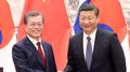 Moon y Xi reafirman su compromiso de desnuclearizar a Corea del Norte a través d..