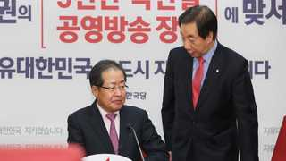 한국당, 홍 대표-친박 정면충돌 우려 최고위 취소
