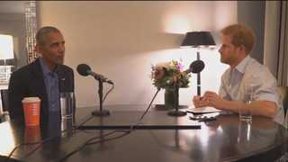 영국 해리 왕자, 오바마 전 대통령 인터뷰