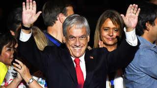 '칠레 트럼프' 피녜라 대선승리, 4년 만에 재집권