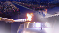 L'arrivée de la flamme olympique et la qualification pour la Coupe du monde de l..