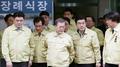 Incendie à Jecheon : Moon effectue une visite surprise