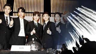 아이돌 엑소 노래, 한국 최초 두바이 분수쇼 주제곡으로