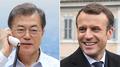 Los líderes de Corea del Sur y Francia acuerdan impulsar la cooperación entre am..