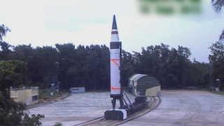 인도, 중국 전역 사정권 핵 탑재가능 ICBM 또 시험발사