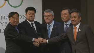 북한 선수 22명 평창올림픽 참가…올림픽 첫 단일팀 확정